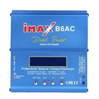 Chansted iMAX B6AC 80 W Lipo NiMH-Akkuladegerät Eingebautes Netzteil (EU) SL#
