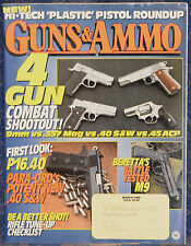 Magazine GUNS & AMMO March 1995 !!WESSON ARMS Next Generation: Scoped Hunter..!!