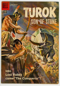JERRY WEIST ESTATE: TUROK SON OF STONE #12 (FN) & 53 (VG) Dell/Gold Key 1958-66