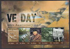 ST KITTS : 2005 60th Anniversary of VE Day  set SG 809-13 MNH