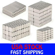 N35 Block Cuboid Rare Earth Neodymium Mini Fridge Strong Magnets Various Sizes