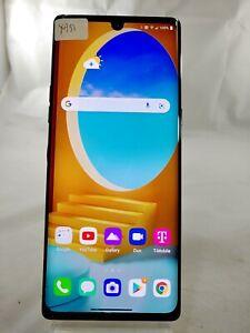"""LG Velvet LM-G900TM 128GB T-Mobile ONLY 6.8"""" Smart Cellphone Android Black X951"""