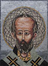 Saint Portrait Marble Mosaic
