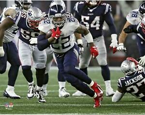 """Derrick Henry Tennessee Titans Unsigned Playoff Moment Running 11"""" x 14"""" Photo"""