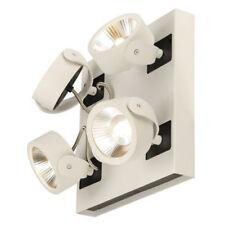 Plafonniers et lustres noirs en aluminium pour la maison avec 4 - 6