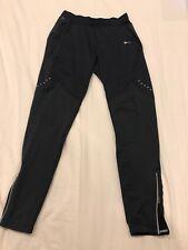 Nike Women's Training Pants Dry-Fit Full-Length Black Authentic Medium