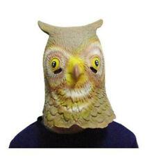 Owl False Headgear Halloween Prom Party Coaplay Animal Gray Emulsion Headdress