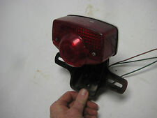 Original 1970 / 71 Honda CD175 Rear Taillight  with Mounting Bracket