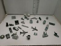 Replacement Piece MONOPOLY / Clue Token Game Piece Vintage lot of 31