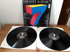 New listing Hits 7 LP Records.Double Vinyl Album. Long Playing 33 1/3 records.
