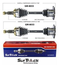 Chevrolet Tahoe K2500 Silverado 1500 4WD AWD Pair Set of 2 Front CV Axle Shafts