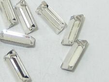 36pcs 4X2mm CRYSTAL BAGUETTE POINTED BACK swarovski  rhinestones