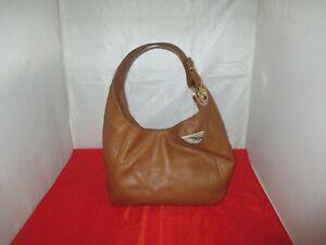 Michael Kors Fulton Large Leather Hobo, Shoulder Bag, Tote $268 Brown  (Luggage)