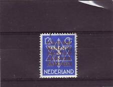 NETHERLANDS - SGJ4 MM/CTO 1924 12 1/2c BLUE - INTERNATIONAL COURT OF JUSTICE