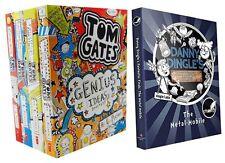 Tom Gate & Danny Dingles 5 Books Set By Liz Pichon Genius Ideas Excellent Excuse