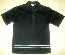 "Vtg 60s ""California"" Brand Ribbed Ban-Lon Knit Rockabilly Rat Pack Polo Shirt-M"