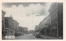 Indiana In Postcard 1946 LIBERTY Union Stret Stores