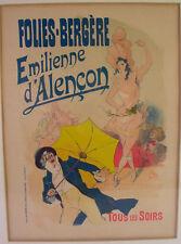 Les Maîtres de l'Affiche - orig. Litho 1898 - FOLIES BERGERE -  Lautrec Aera