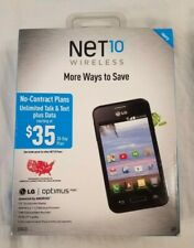 """Net 10 Wireless LG Optimus Fuel Android 3.5"""" Touchscreen New/Sealed"""