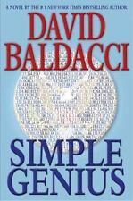 Simple Genius, David Baldacci, 0446580341, Book, Good