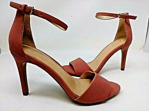 NEW! APT 9 Women's Prosper High Heel Open Toe Sandals Rose #160089 78C tp