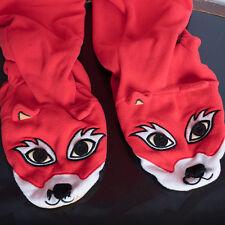 Nick & Nora  One Piece Footed Pajamas  Sleeper Red Fox Size Medium M