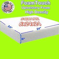"High Density FoamTouch Upholstery Foam Cushion  6"" X 24"" X 24"" - free shipping"