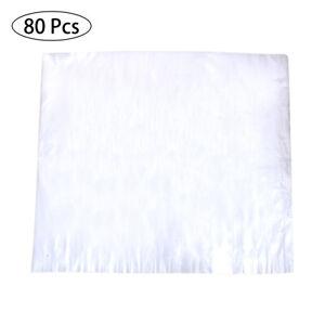 80Pcs Disposable Liner Bath Basin Bags For Foot Pedicure Spa 65*55cm Convenient