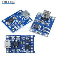 2/5/10PCS 5V 1A Mini/Micro USB 18650 Lithium Battery Charger Board Module TP4056