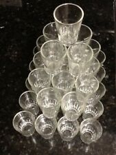 3 Doz Shot Glasses Glass Barware Shots Drink Whiskey Rum Bar Tequilla 1.5 ounce