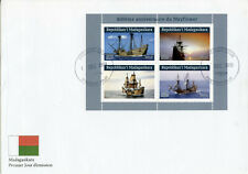Madagascar Ships Stamps 2019 FDC Mayflower 400 Years Boats Nautical 4v M/S