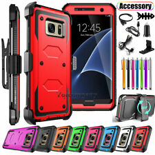 For Samsung Galaxy Note 5 Phone Case Belt Clip Cover With Kickstand Accessory