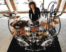 Tommy Aldridge Ozzy Whitesnake drummer auto 8x10 Photo #2 w/COA