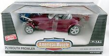 1/18 Magenta Plymouth Prowler Die Cast Model (Rare Error Edition) - ERTL #7394