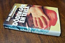Jan Martenson Doden gor En Tavla 1981 Swedish Crime Novel 1st Edition Hardcover