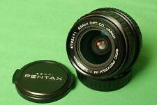 PENTAX SMC Pentax M 28mm f/3.5 wide angle lens Full Frame SLR or Mirrorless