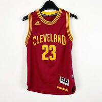 LeBron James #23 Cleveland Cavaliers NBA Kids Adidas Jersey Youth Size Medium