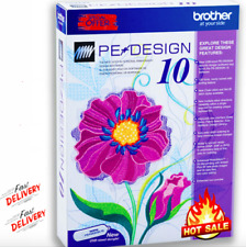Brother PE Design 10 Embroidery Full Software 2020  Fast Delivery