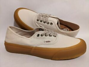 Vans New Authentic SF Eco Theory Natural/Double Light Men Size USA 9 Skate Shoes