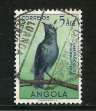 1951 - ANGOLA - 5 Ag. UCCELLI - USATO - LOTTO/29015