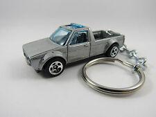 1979 1980 1981 1982 1983 VOLKSWAGEN CADDY Pickup Silver Key FOB Keyring Keychain