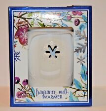 Bath & Body Works White Barn Snowflake Fragrance Melt Warmer NEW