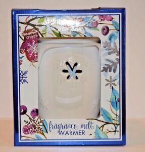 Bath & Body Works White Barn Snowflake Fragrance Melt Warmer NEW