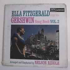 "33T Ella FITZGERALD RIDDLE Disque LP 12"" GERSHWIN SONG BOOK Vol. 2 - VERVE 4015"