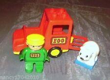 Lego Duplo Zoo Auto Transporter f.Tiere Wärter LKW  Figur für  5635 6136 Eisbär