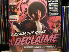 """DECLAIME - EXCLAIM THE NAME / THE MOVEMENT (12"""")  2001  RARE  LOOTPACK + MADLIB"""