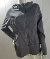 Zella Women's Heathered Cobalt Royal Gray Full Zip Hoodie Size XL