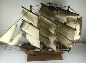 USS Constitution Model Ship 18 Inches by 14 Inches