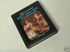 Atari 2600 Math Gran Prix Sears Variant for the ATARI 2600 Video Game System
