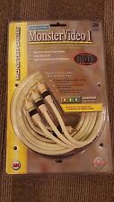New Monster Cable Brand 2m (6.6ft) Component HDTV Video Cable MV1CV-2M